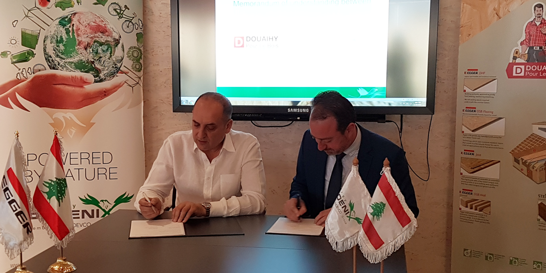 Douaihy Pour Le Bois Signs MOU with Phoenix Energy